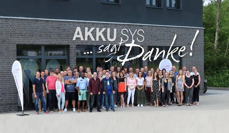 Akkusys sagt Danke