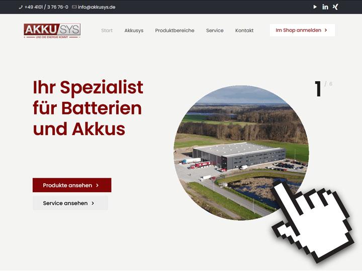 Relaunch Akkusys.de