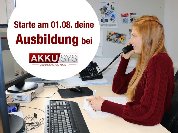 Deine Ausbildung bei AKKU SYS