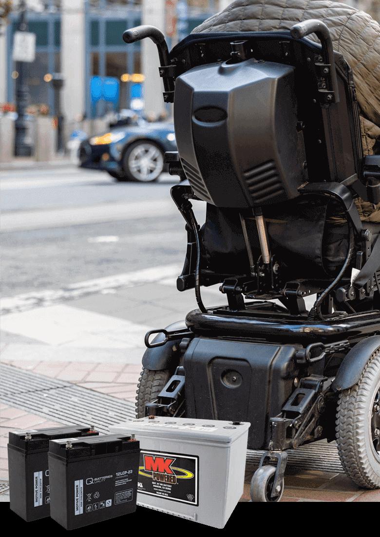 Akkus für Rollstühle