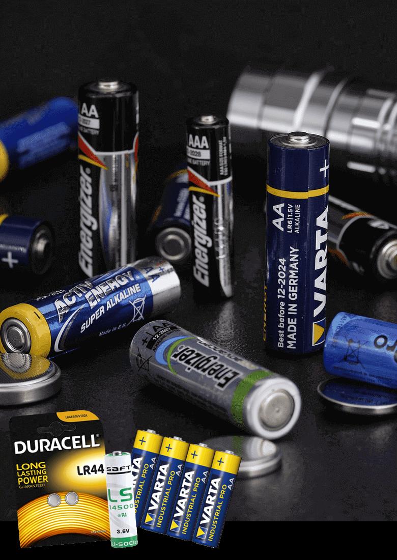 Batterien (Rundzellen)