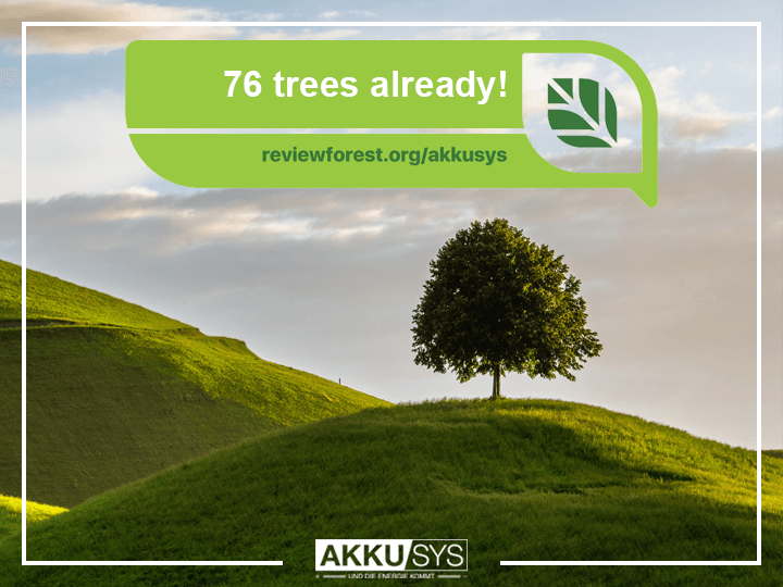 76 trees already in our review forest
