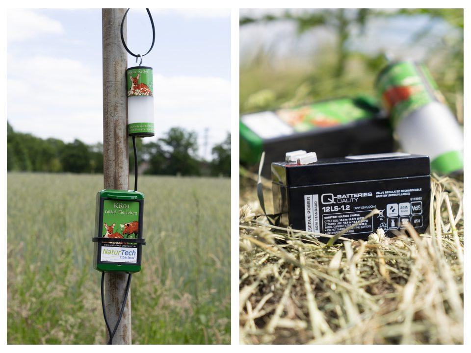 Q-Batteries 12LS-1.2 im Wildtierwarner